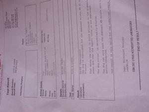 PDE N/N certificate