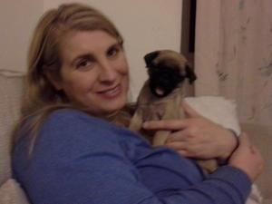 Elsa's puppy.