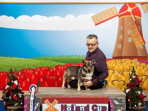 Lille Viking's Ivar taking Best of Breed Amsterdam