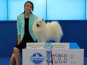 WORLD WINNER 2015 Ch Kumiko Mizurio