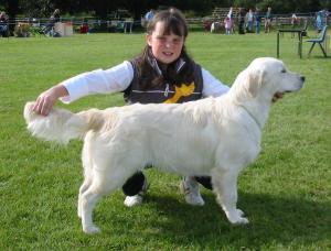 Katie Junior Handling with Kizzie